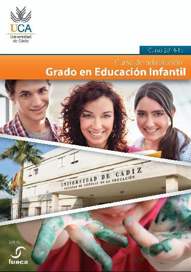 Curso de Adaptación 2014-2015 - Grado en Educación Infantil