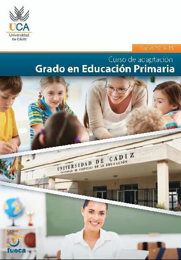 Pinche aquí para acceder al díptico del Curso de Adaptación 2014-2015- Grado en Educación Primaria