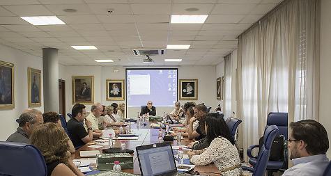 Reunion de la Conferencia de Decanos y Decanas de Educacion de Andalucia, Ceuta y Melilla