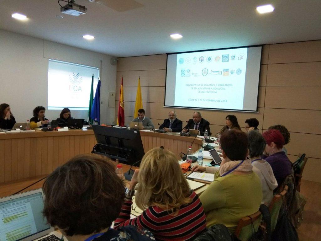 Conferencia de Decanos de Educación de Andalucía, Ceuta y Melilla