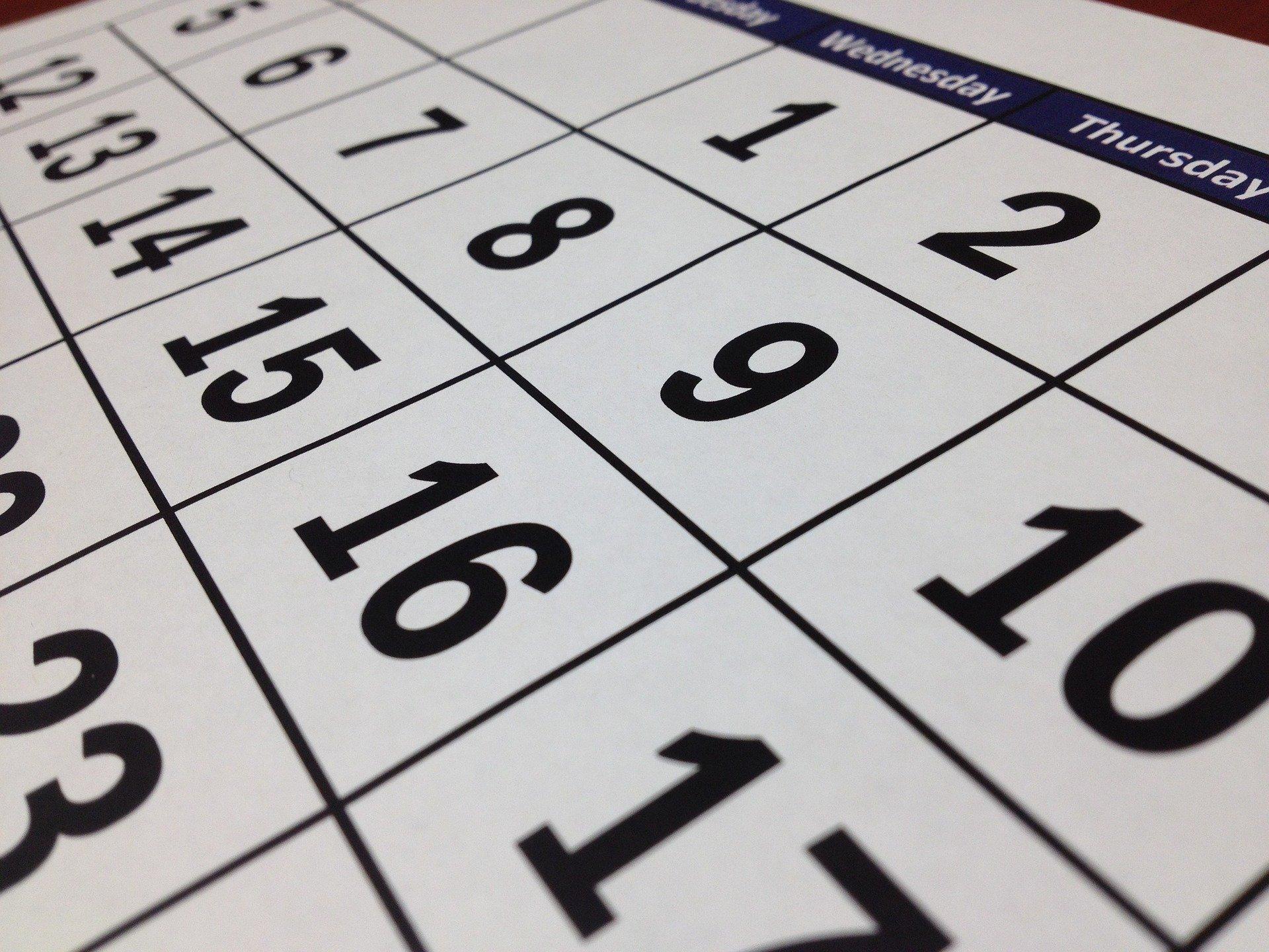 Calendarios TFG Junio y Septiembre 2021 (Actualizado 05/06)