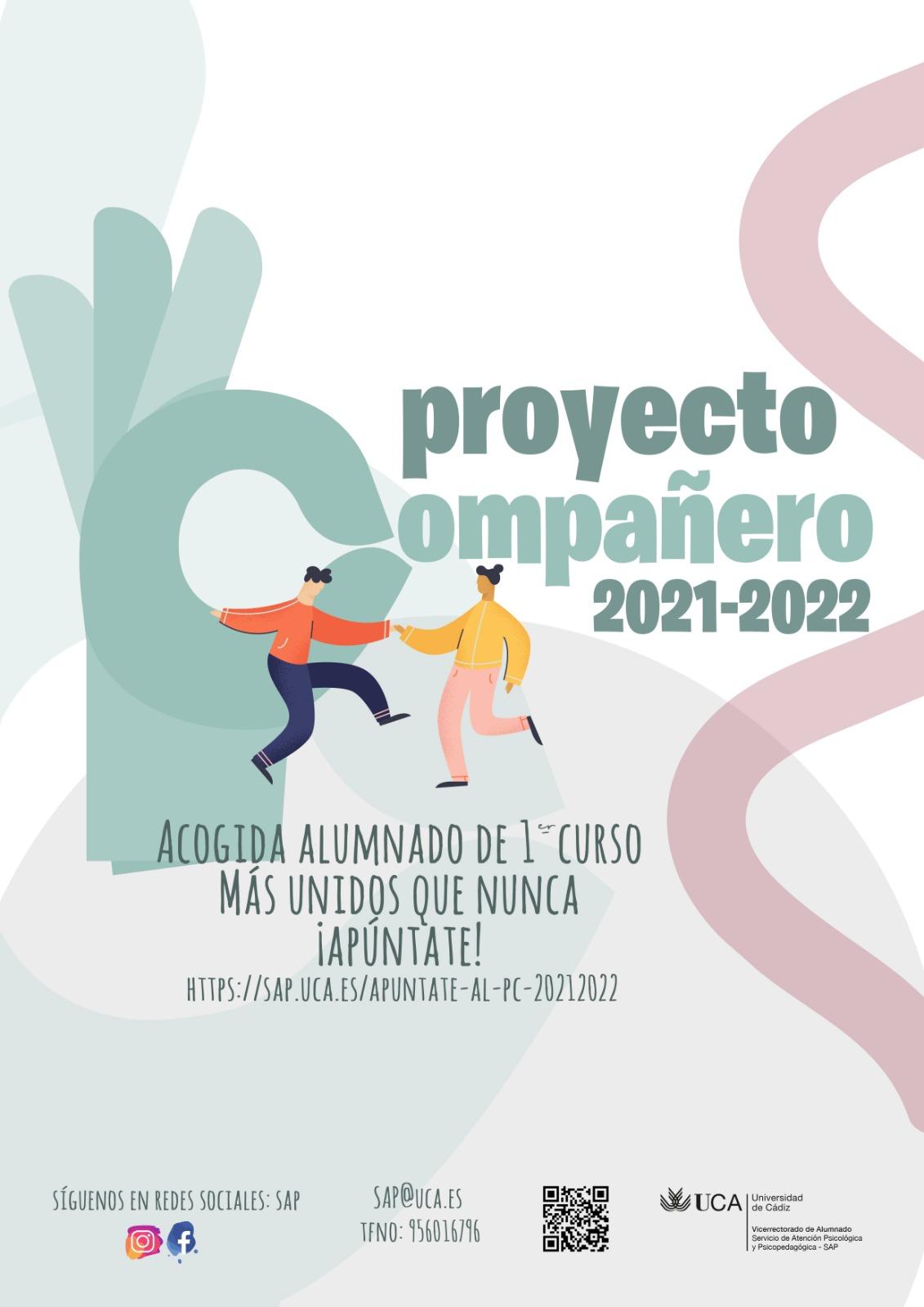 ¡Apúntate al Proyecto Compañero 2021/22!